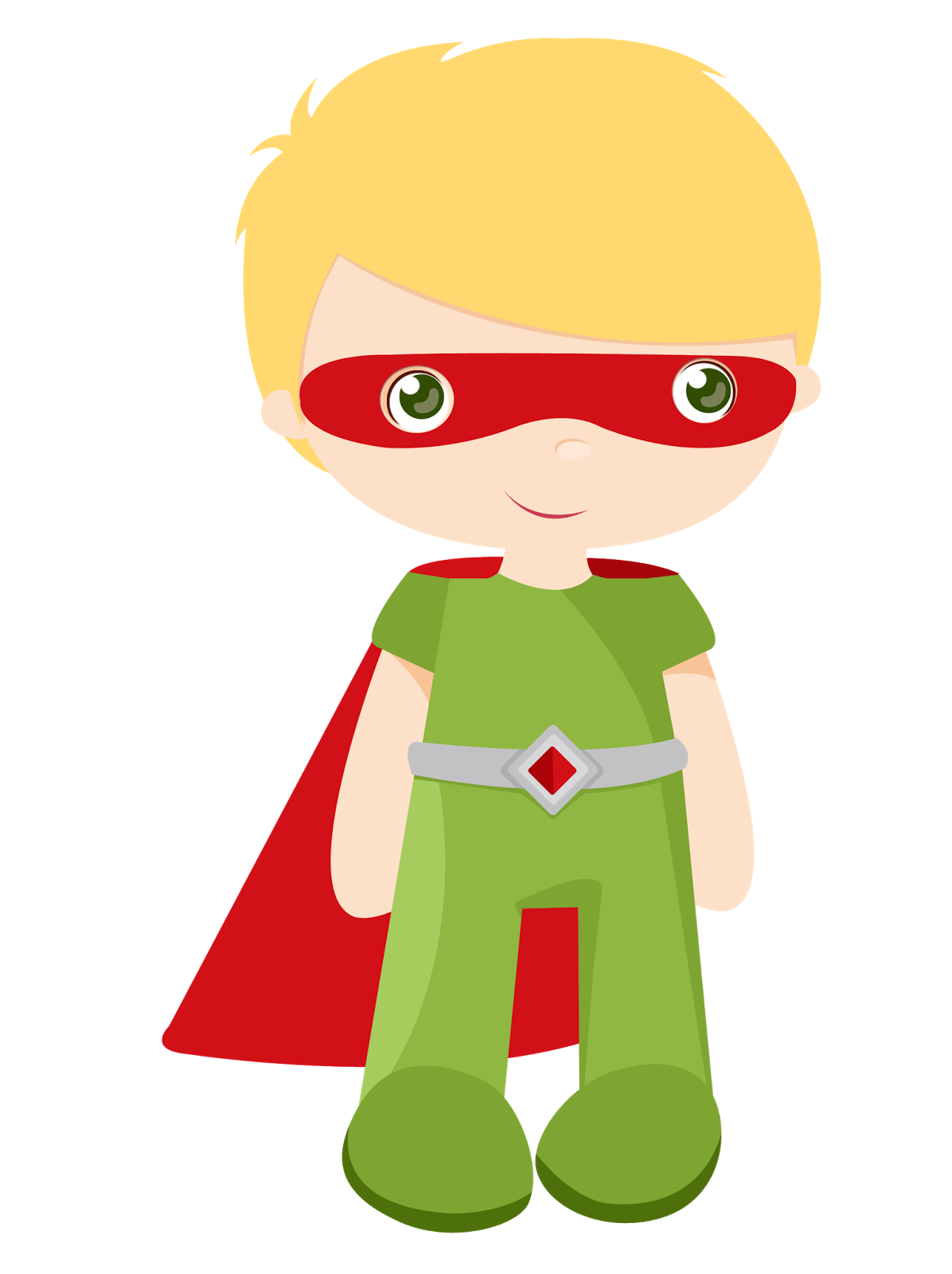 Kids dressed as superheroes. Number 1 clipart superhero