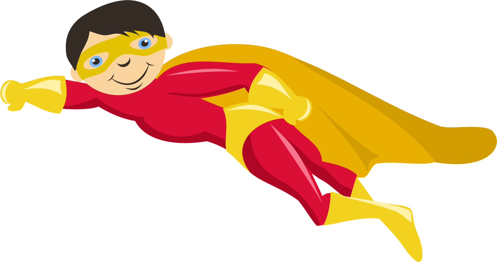Number 1 clipart superhero. Kids with superheroes costumes