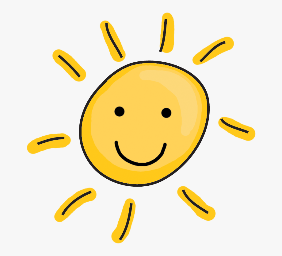 Happy sun free . Cute clipart transparent