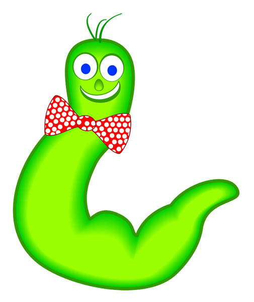 Free cliparts download clip. Worm clipart cute