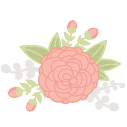 Cute flower png. Flowers svg cutting files