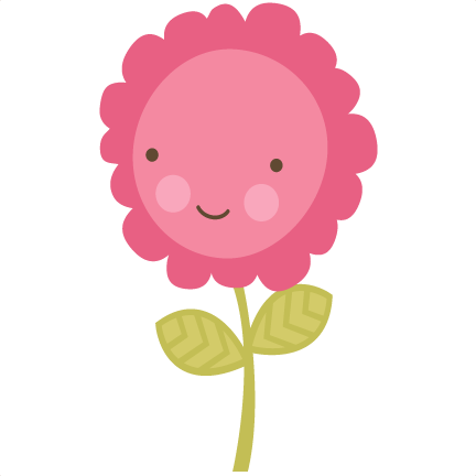 Cute flower png. Svg file cutting machines