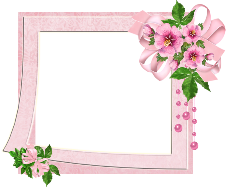 Cute frame png. Pink transparent photo with