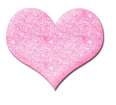 Glitter heart by dashawtygaga. Cute hearts png