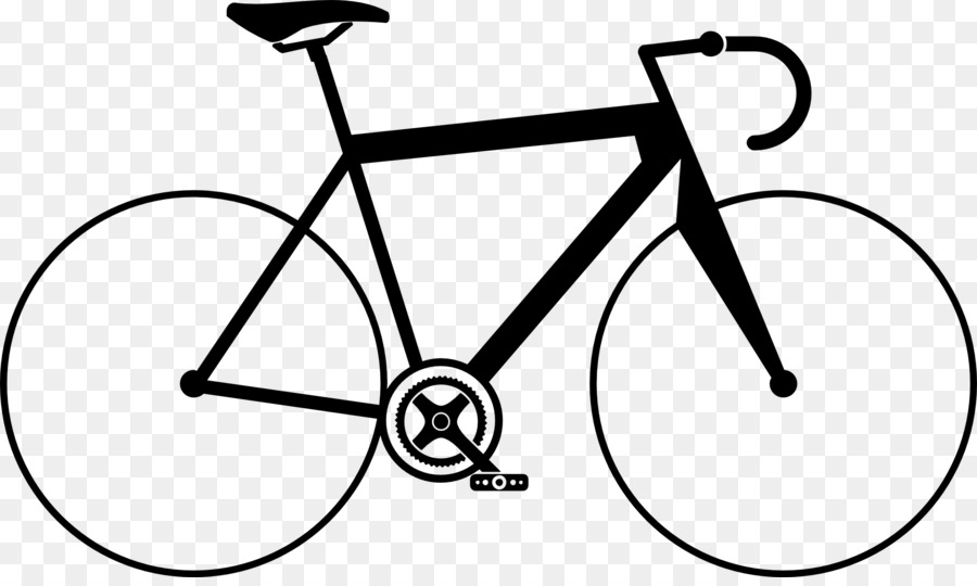 Cycle clipart bicycle frame. Black and white cycling