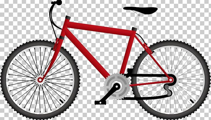 Cycle clipart bicycle frame. Hybrid mountain bike cycling