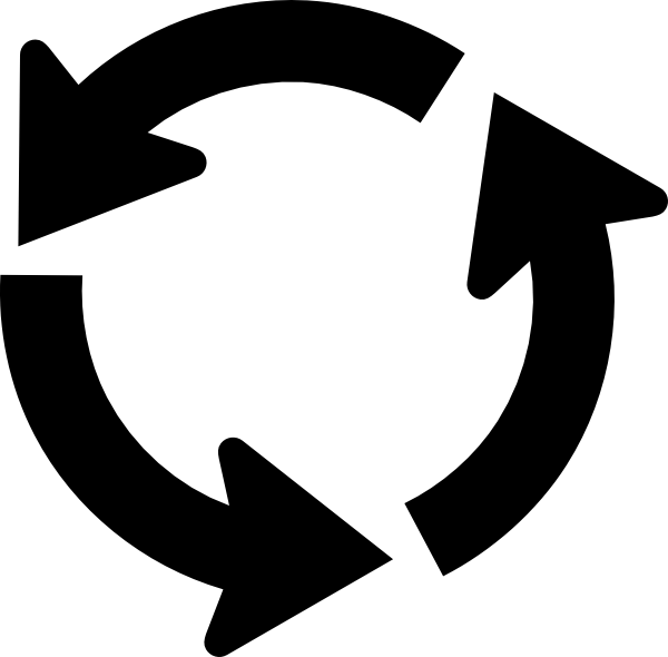 collection of process. Cycle clipart circular