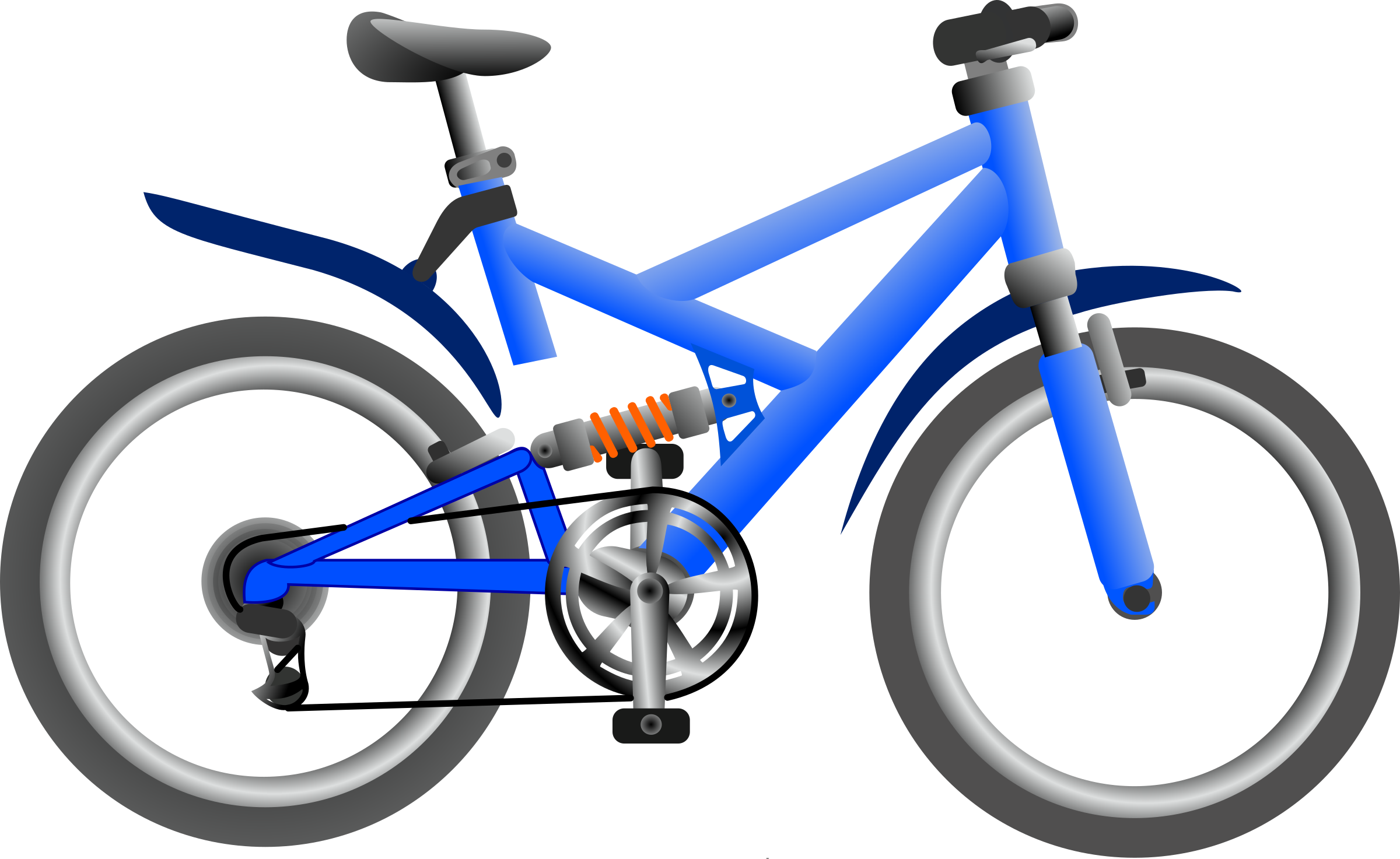 Cycle clipart cool bike. Blue big image png