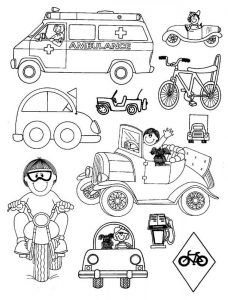 Image result for preschool. Cycle clipart land transportation
