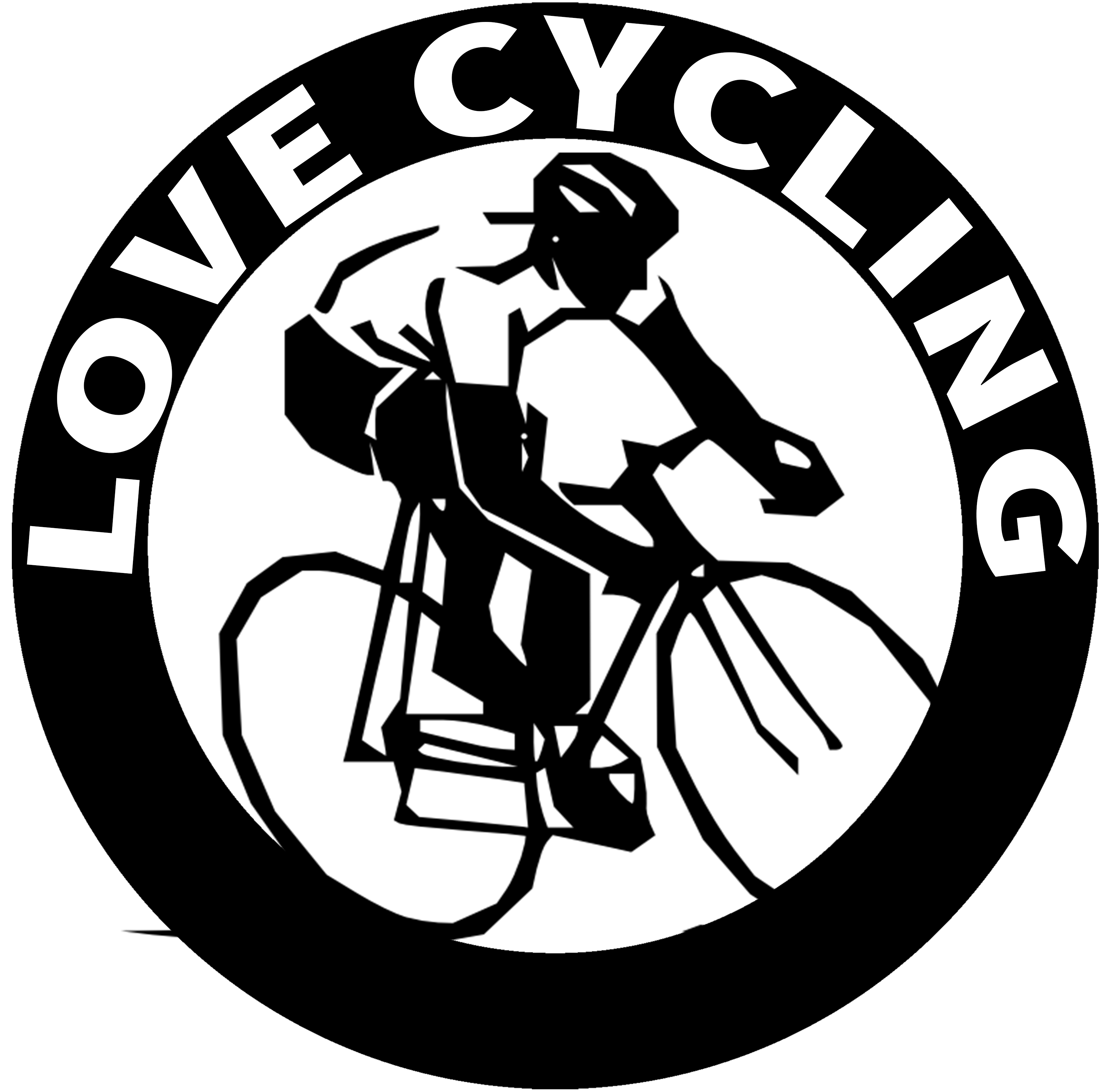 Cycle clipart name. Love cycling teespring