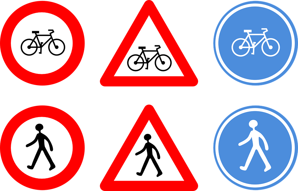 Road sign png latest. Cycle clipart roundabout