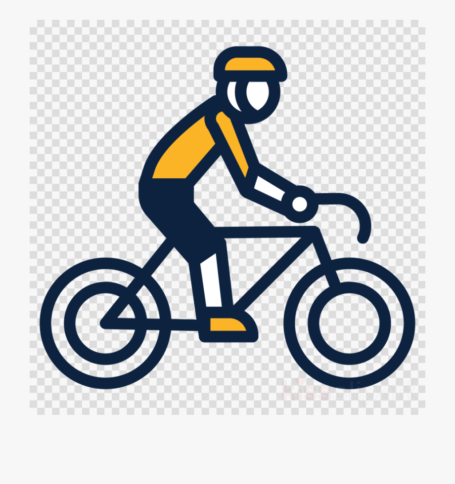 Biking clipart cyclist. Bicycle cycling transparent ride