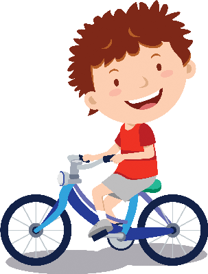 Cycling clipart. Little boy the arts
