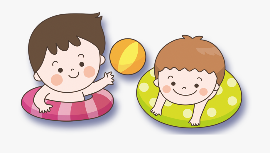 Child png cartoon . Swimmer clipart baby swimming