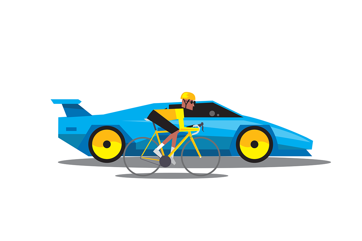 How fast can you. Cycling clipart go ahead
