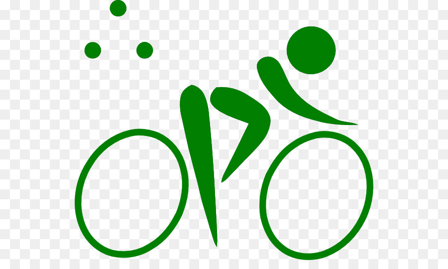 Olympics clipart olympic games. Cycling bicycle green transparent