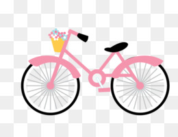 Free download the clip. Cycling clipart pink bicycle