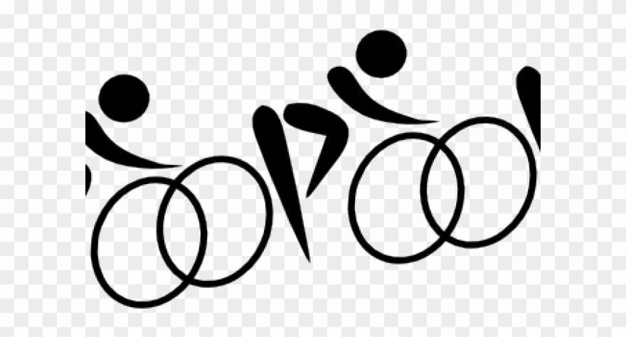 Cycling clipart rode. Mk ur f t