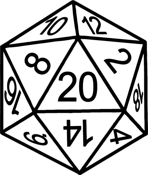 D20 clipart. Cat red graphics illustrations