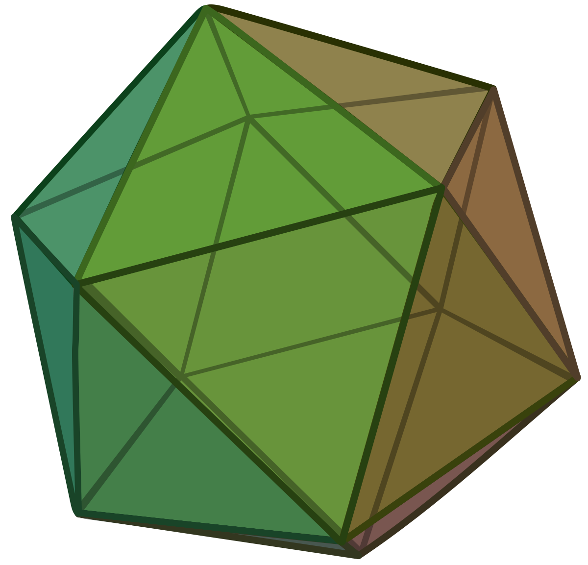 Icosahedron wikipedia . D20 clipart 20 sided dice