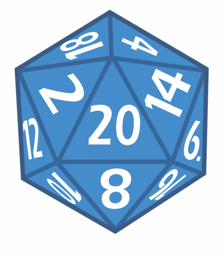 Png pngtube . D20 clipart 20 sided dice