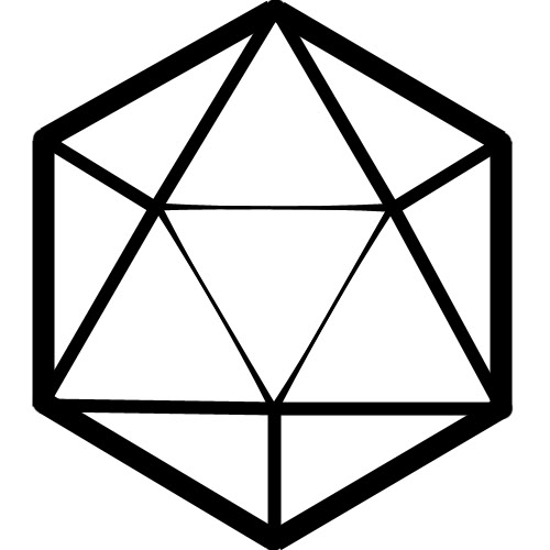 icon free icons. D20 clipart 20 sided dice