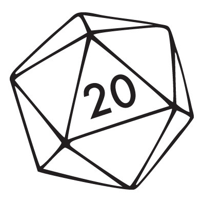 Sunday is embrace your. D20 clipart