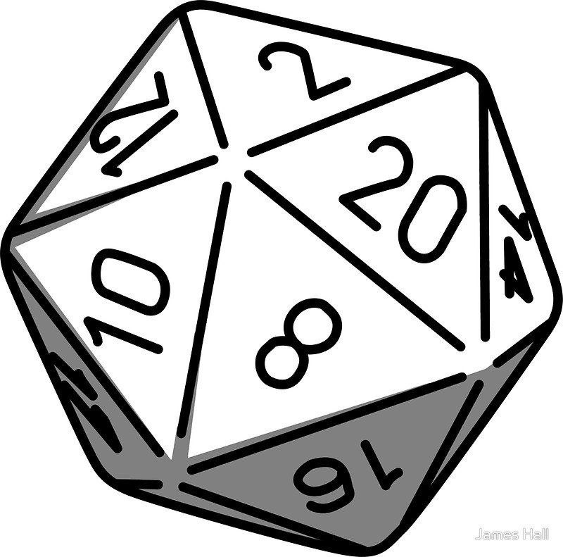 D20 clipart. Tg traditional games thread