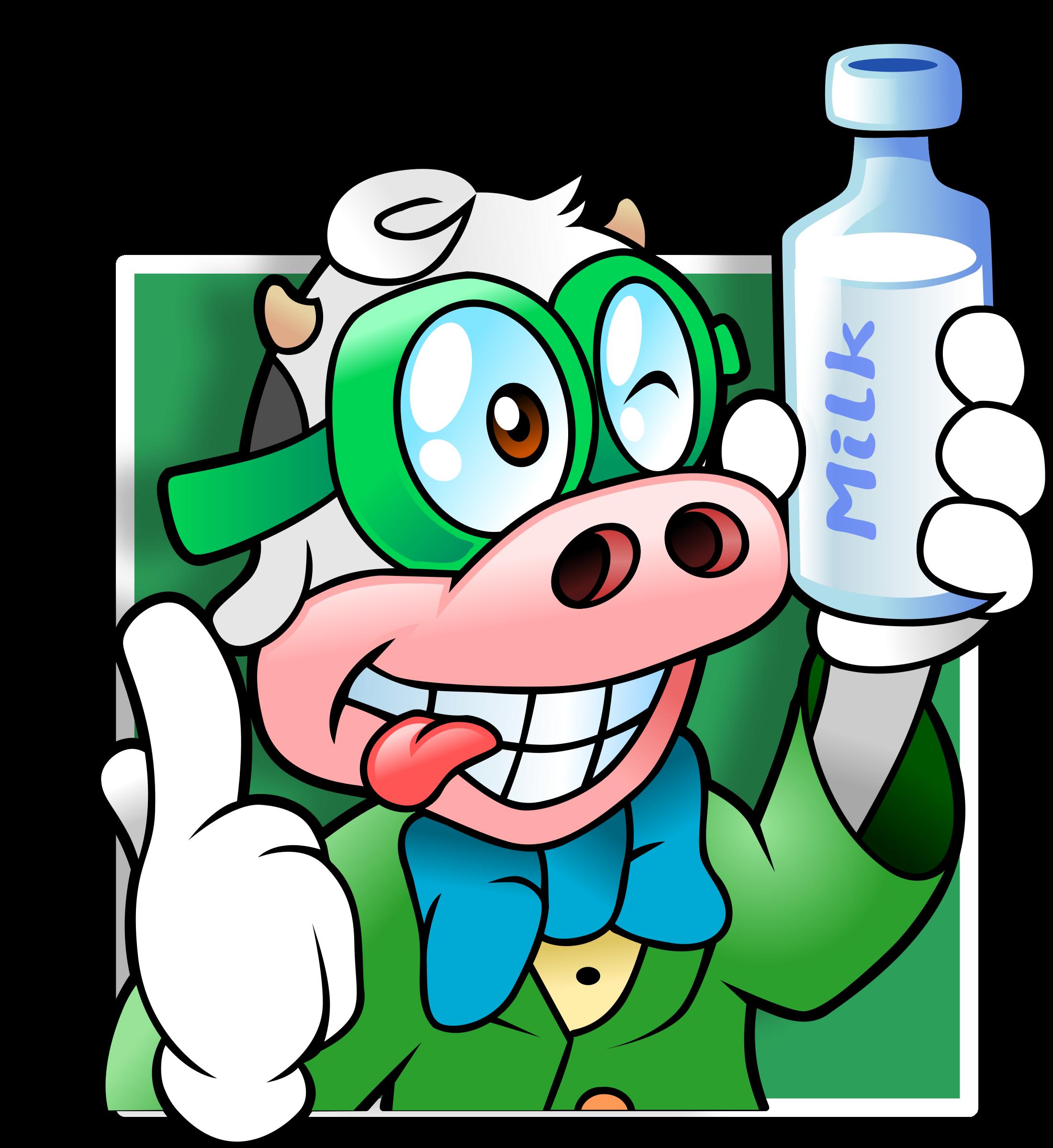 D20 clipart avatar. Nerd cow big image