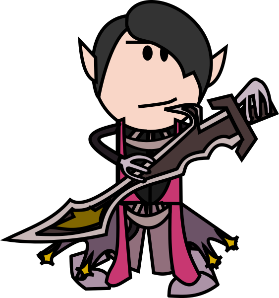D20 clipart avatar. Request an oots style