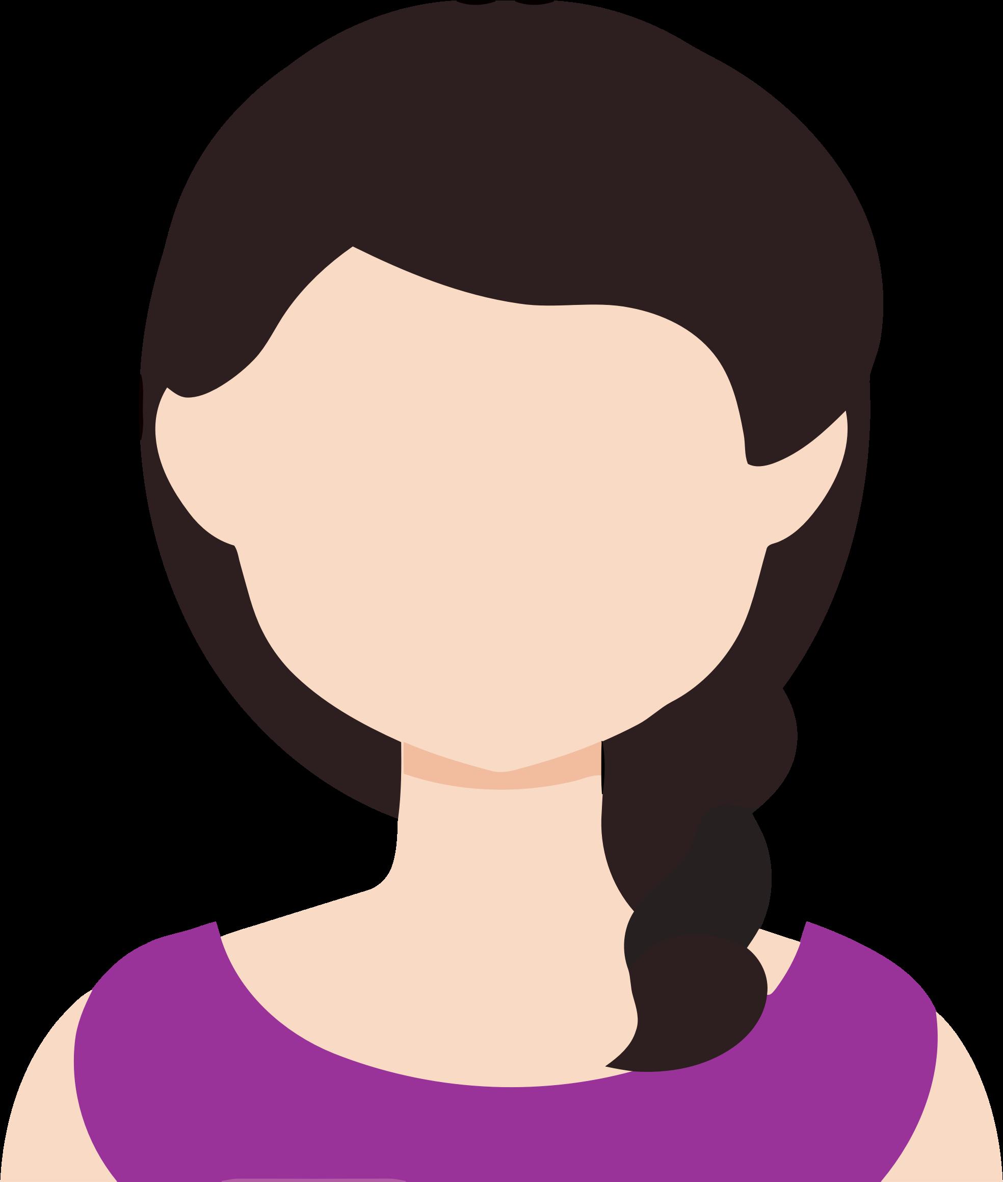 Female big image png. D20 clipart avatar
