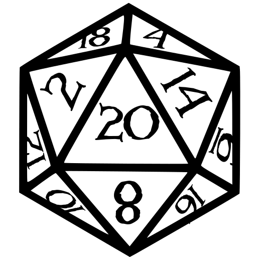 D20 clipart black and white. Image result for d