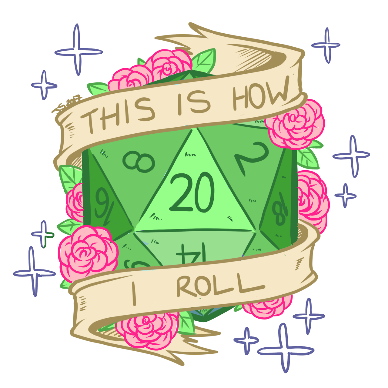 This is a ding. D20 clipart transparent