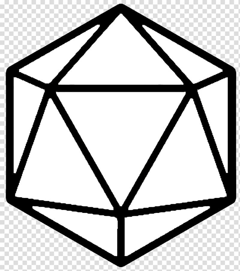D system dungeons dragons. D20 clipart transparent