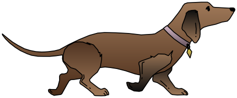Dachshund clipart. Animals dogs d png