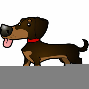 Dachshund clipart animated. Free images at clker