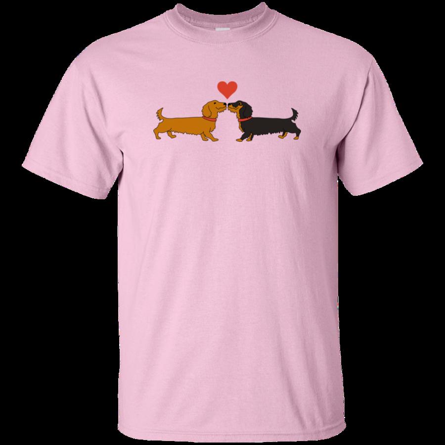 Dachshund clipart dachshund love. Shirts mugs lovethebreed com