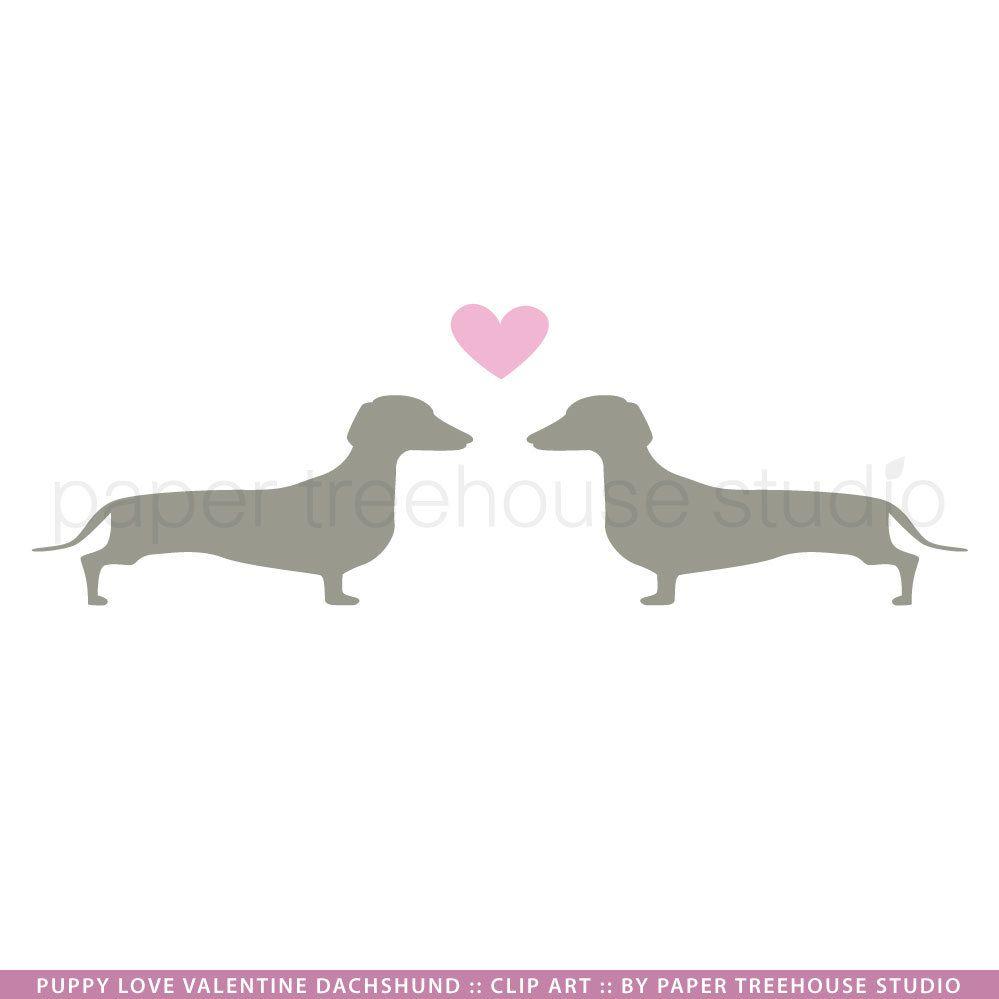 Dachshund clipart dachshund love. Clip art google search