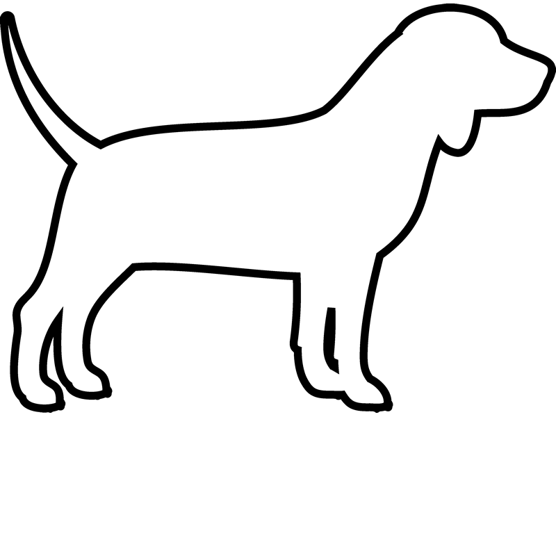 Dachshund clipart dachshund outline. Of a dog acur