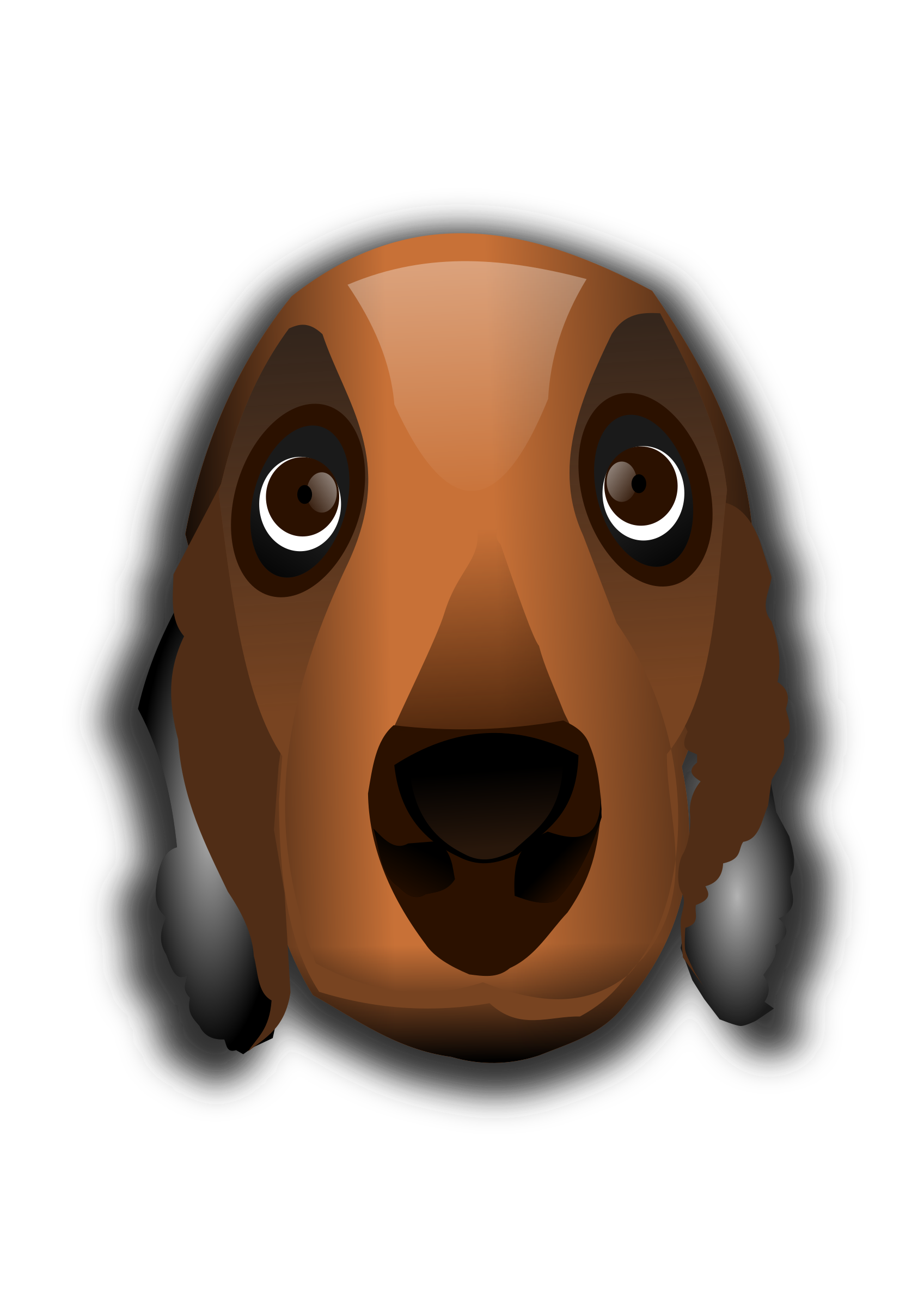 Head clipart dachshund. Dog big image png