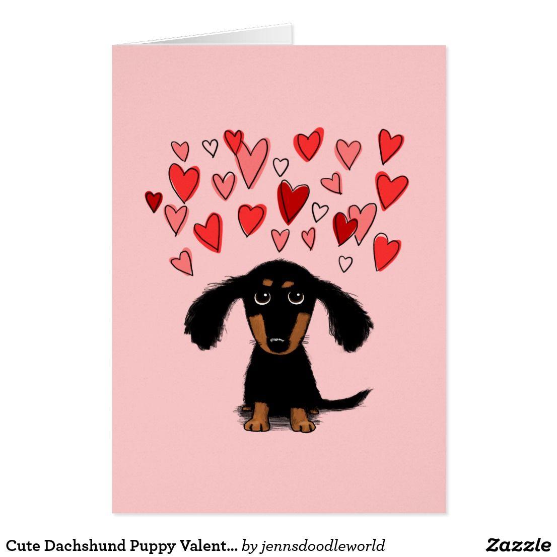 Dachshund clipart i heart. Cute puppy dog valentine