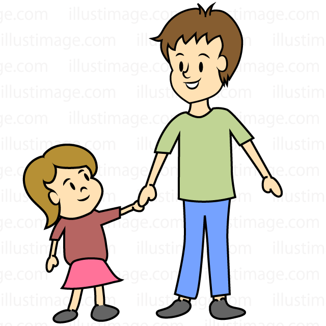 Boys clipart dad. Free girl and image