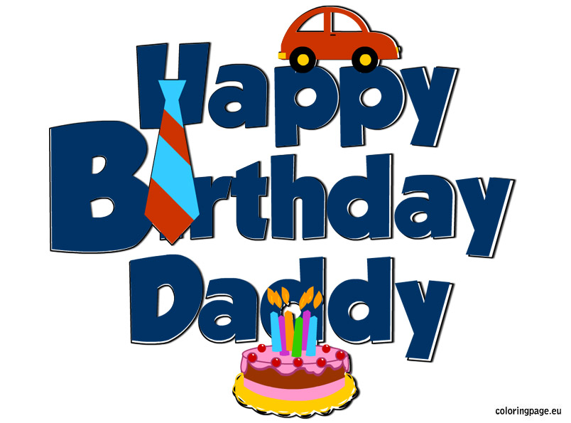 Download happy daddy clip. Father clipart father birthday
