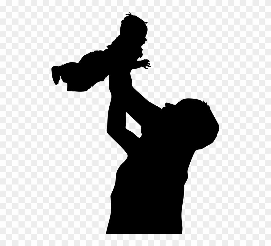 Dad clipart father and son. Family baby boy child