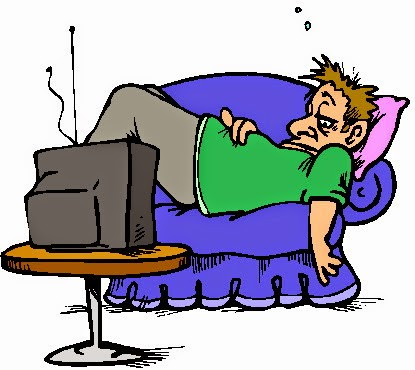 Being cliparts zone . Father clipart lazy