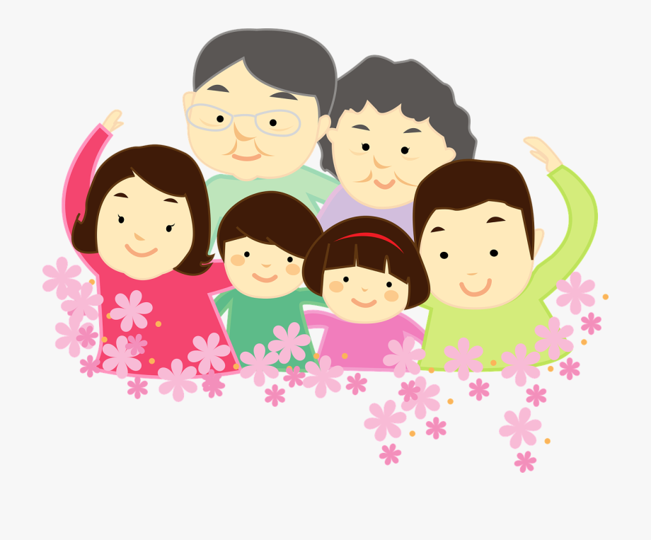 Family a harmony people. Respect clipart happy dad