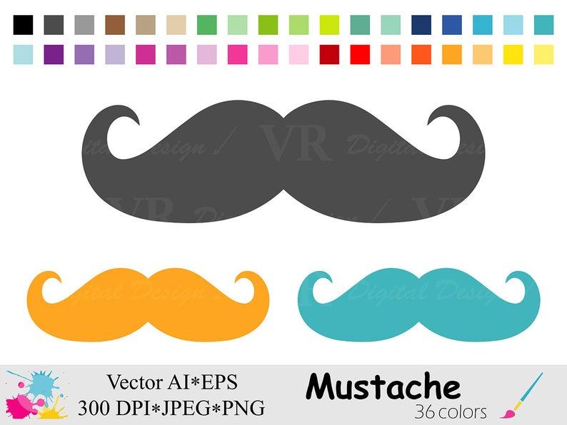 Mustache rainbow digital fathers. Moustache clipart jpeg