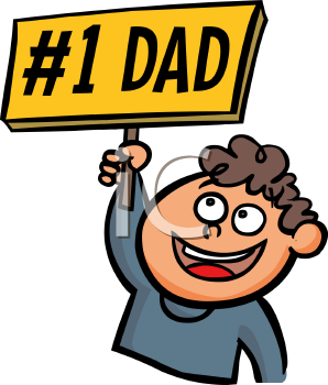 Dad clipart number 1. Iclipart boy holding a