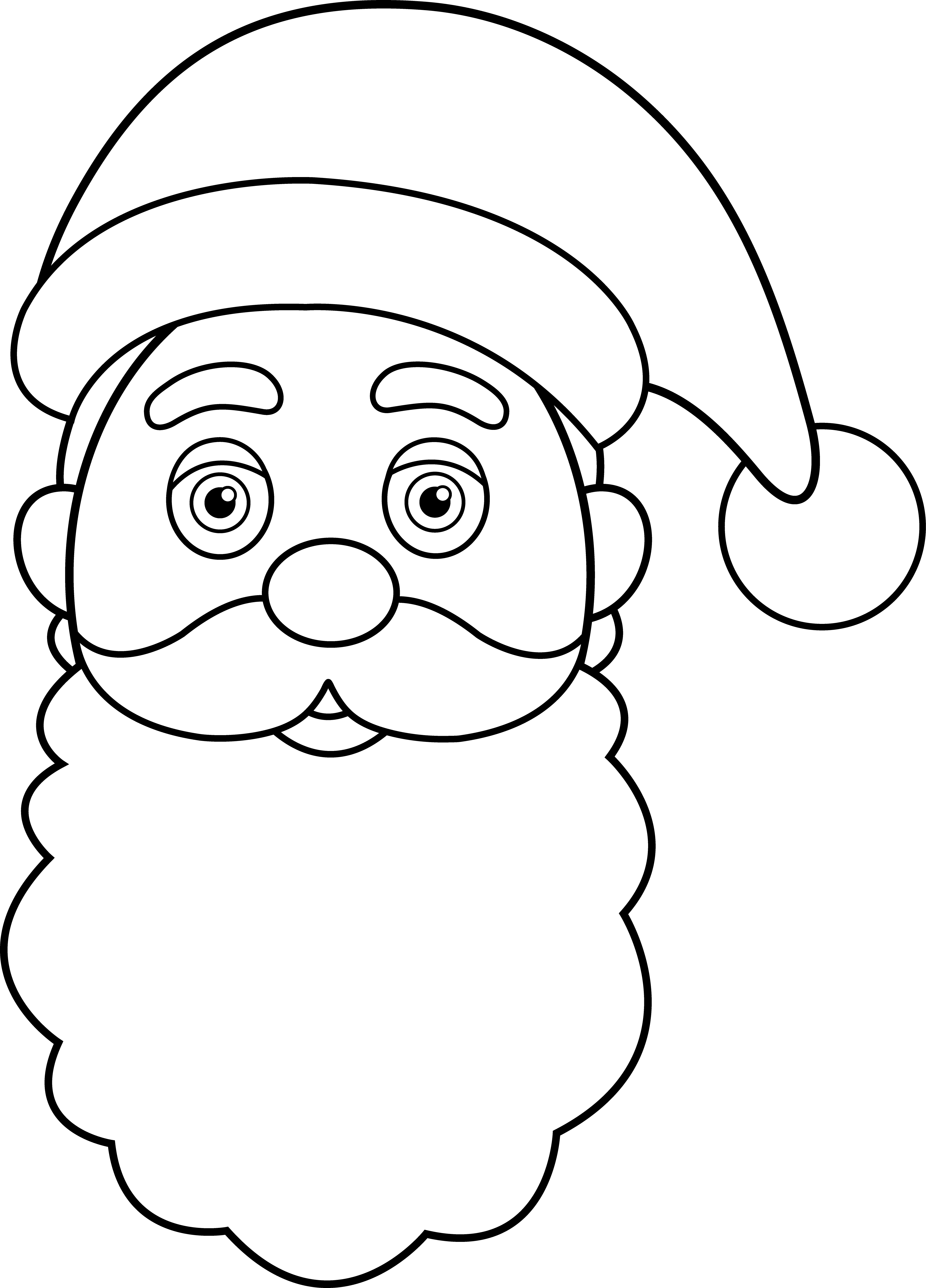 Father clipart black and white. Face group line art