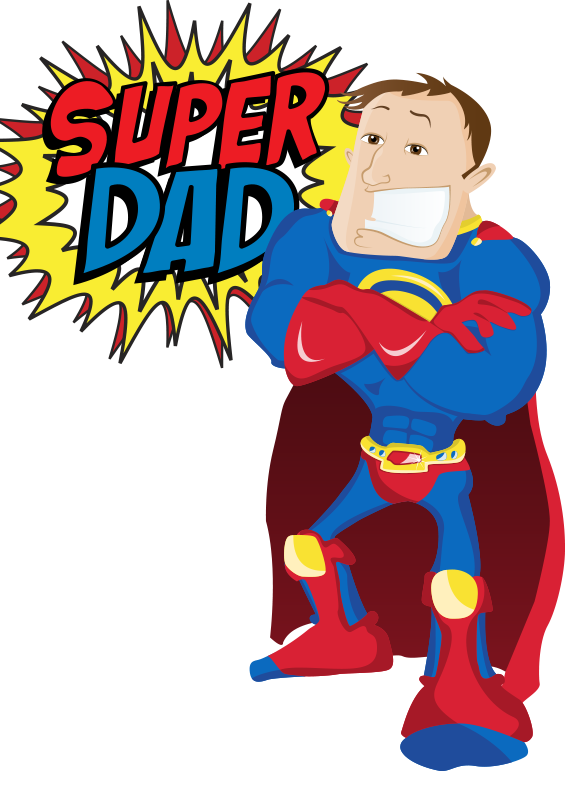 Super dad png transparent. Grill clipart father's day